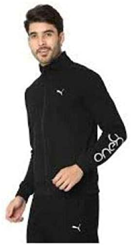 Men S One8 Casual Wear Stretchable Joggers Tracksuit For Sports