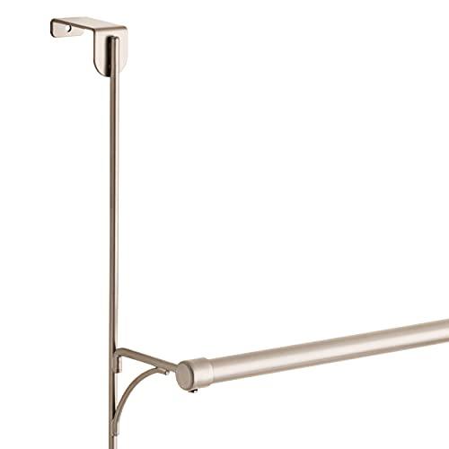 Franklin Brass 193153-FN Over the Door Triple Towel Rack with Hooks