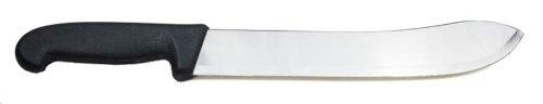 COUTEAU A VIANDE DE BOUCHER A PROFIL RECOURBE 30 CM PAR DOLOMITEN INOX