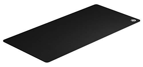SteelSeries QcK 3XL Tappetino per mouse da gioco, Il mouse pad più venduto di sempre, Ottimizzato per i sensori di gioco, Dimensioni 3XL (1220mm x 590mm x 2mm)