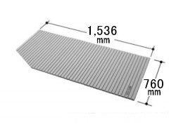 LIXIL INAX 風呂巻フタ 幅1,536×奥行760mm:BLSC74150(2)L-K (Lタイプ) (風呂ふた、フロふた、風呂蓋)