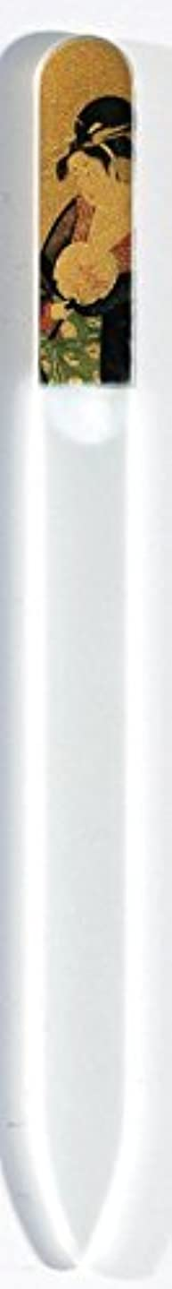 経済的広大な予測子蒔絵 ブラジェク製 爪ヤスリ 美人納涼図 特殊プリント加工 紀州漆器