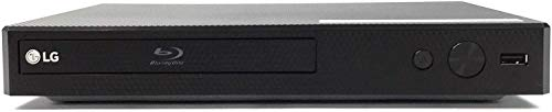 LG BPM35   BP350 Blu-ray Disc Player with Streaming Services and Built-in Wi-Fi, 6FT HDMI Cable Included (Renewed)