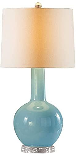 KFJZGZZ Lámpara de Mesa Minimalista Cerámica Lámpara de Mesa Dormitorio de Noche Lámpara de Noche Moderna Estilo Chino Sala de Estar lámpara lámpara de Noche lámparas de Noche