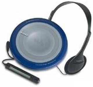 SONY ポータブルCDプレーヤー ウォークマン D-EJ855-LM ブルー