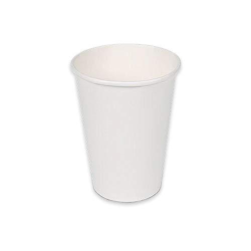 Soul Forest - Vasos Reciclables de Cartón 330 ml - Pack de Vasos Desechables Biodegradables para refrescos, Agua y Combinados - 100 Unidades