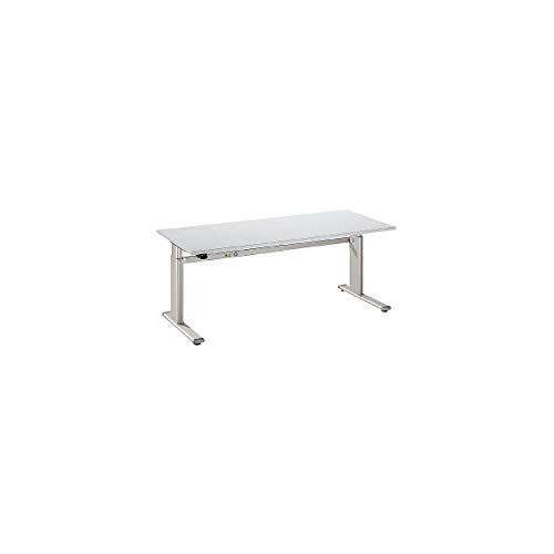 HAMMERBACHER XD16/5 Schreibtisch Elektr.160cm grau