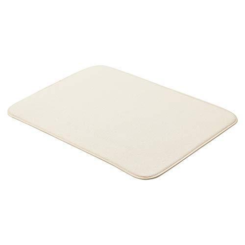 AmazonBasics - Esterilla de secado, 47,7 x 60,9 cm, color lino, 2 unidades