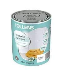 Tollens - Esmalte para azulejos al agua Brillante 750 ml (Bl