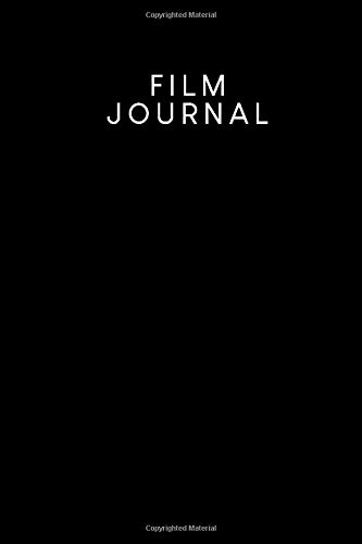 Film Journal: To capture all the movies and series you have watched to fill in   Design: Black