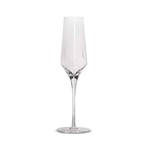 Nordic Crystal Rotweinglas Stemware Rautenförmiges Weinglas Luxus Cocktail Einfache Party Hochzeit Champagnerglas, Stil 4