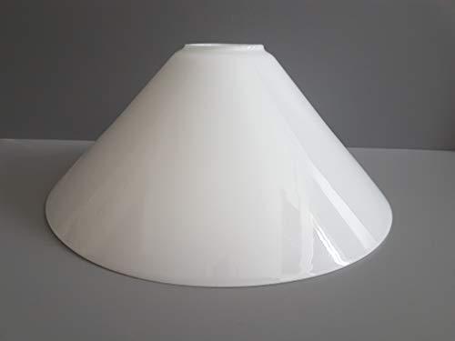 Ersatzglas Lampenglas Lampenschirm konisch E27 opal glänzend Pendelleuchte Tischleuchte Leseleuchte Fluterglas