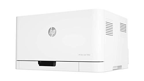 HP Color Laser 150nw - Impresora láser color, Wi-Fi, Ethernet (4ZB95A)