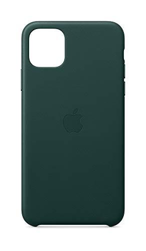 Apple Leder Hülle (für iPhone 11 Pro Max) - Waldgrün - 6.5 Zoll