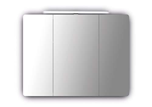 Sieper Espella Comfort 800 aluminium spiegelkast met verlichting 100 cm