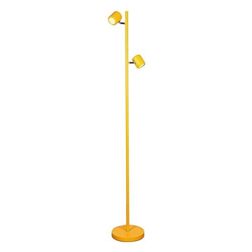 lámpara de piso La simplicidad Lámpara de pie de hierro forjado Lámpara de pie moderna Dormitorio Sala de Estudio Cuarto de la luz del piso de dirección ajustable Lámpara de piso, 58.3' H Lámpara de p