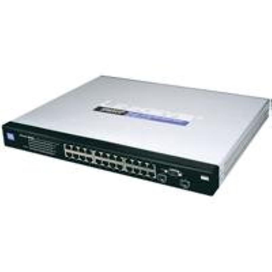 Cisco SRW2024P 24-port Gigabit Switch - WebView/PoE