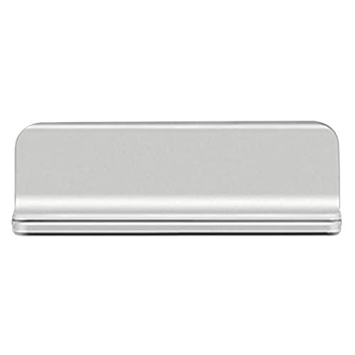 Bessegad Vertical Ajustable Portátil Portátil Portátil Portátil Portátil Soporte de Soporte de Soporte para MacBook Pro Air Accesorio (Color : Silver A)