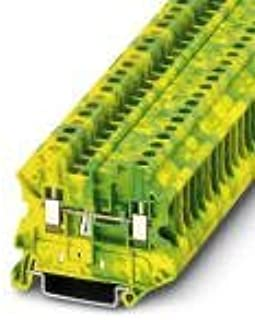 UT 4-MTD-PE, Ground Modular Terminal Block, Connection Method: Screw Connection, Cross Section: 0.14 mm² - 6 mm², AWG: 26 (5 Items)