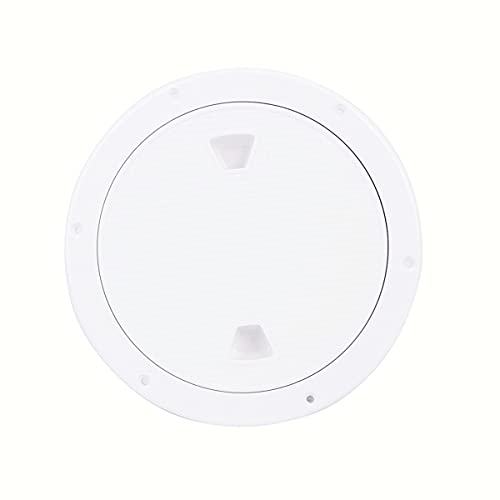 xingbailong 4 Boat Round Non Slip Inspection Hatch Cover ABS Corrosion Resistant and Detachable Cover with Durable Rubber Strip Sealing
