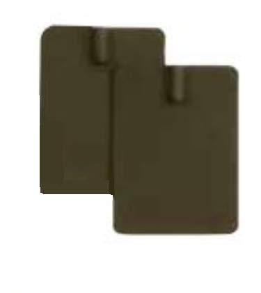 RehabMedic Electrodos de Goma 4,5 x 5,5 cm Bolsa de 4 unidades