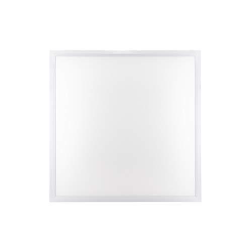 POPP® Panel LED PRO con lente PMMA, 220V, 4000-6000Lm, IP20, Blanco, 60x60cm, 30x120cm,60x120cm (60x60cm, 40W 400Lm, 4000K)