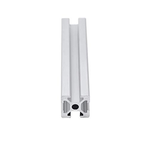 YUNJINGCHENMAN CNC 3D Printer Parts 2020 Aluminum Profile European Standard Anodized Linear Rail Aluminum Profile 2020 Extrusion 2020 for 3D (Color : 250 mm)