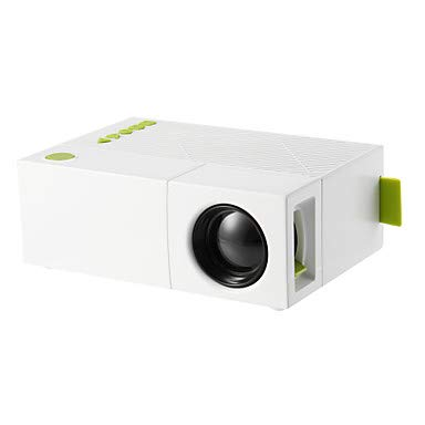 WG YG310 LCD Mini Projector LED Projector 500 Lm Other OS Support 1080P (1920X1080) 20-80 Inch Screen/QVGA (320X240)