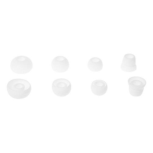 Siwetg - 4 pares de almohadillas de silicona para auriculares Power 2/3 Wirel PB2 PB3