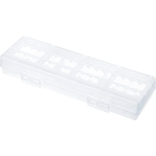 サンワサプライ 電池ケース(単3形、単4形対応大容量タイプ・クリア) DG-BT6C