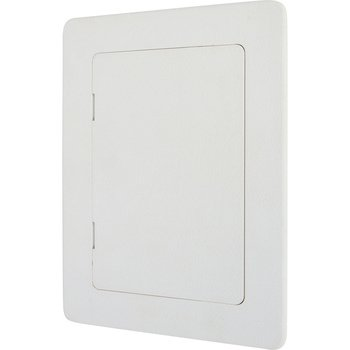 Wallo 5 X 7-Inch Plastic Access Door, Reinforced Hinged Access Panel for Drywall Walls and Ceilings. Perfect for Providing Service Area for Plumbing/Wiring Applications and Electrical Access Panels