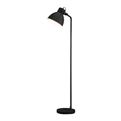 WRMOP vloerlamp eenvoudige retro woonkamer sofa bed bedlampje energiebesparende lamp verticale hals D'Oca flexibel R/19/12/20