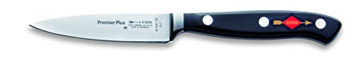 F. DICK Officemesser, Premier Plus (Messer mit Klinge 9 cm, X50CrMoV15 Stahl, nichtrostend, 56° HRC) 8144709