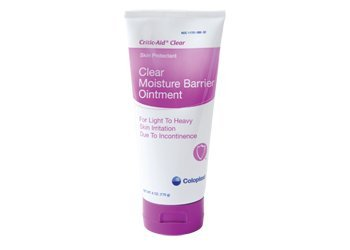 Critic-Aid Clear Skin Protectant 2.5 oz. Tube Scented Ointment CHG Compatible, 7566 - Sold by: Pack of One