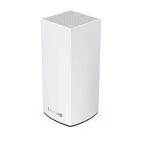 Linksys - Sistema Mesh WiFi 6 de Doble Banda para Todo el hogar Atlas Pro 6 (Router WiFi AX5400, Cobertura de hasta 250 m², el cuádruple de Velocidad para más 30 Dispositivos) Blanco