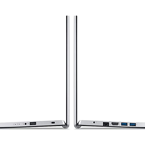 Acer Aspire 3 core i5 11th Generation Processor 15.6-inch Thin and Light Laptop - (8 GB/1 TB HDD+256GB SSD/Microsoft Office/Windows 10 Home/Intel Iris Xe Graphic/1.7Kg/Silver) A315-58