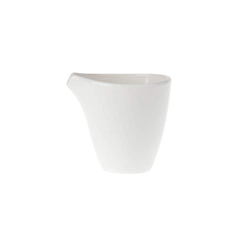 Villeroy & Boch Flow Bricco per Latte, Porcellana Premium, Bianco, 200 ml