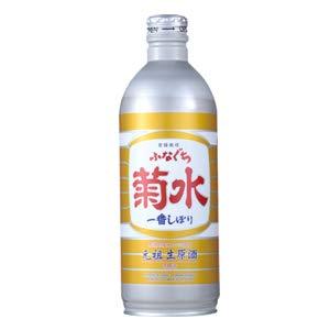 【お酒】 清酒 菊水 ふなぐち菊水一番しぼり ボトル缶 500ml×12本入