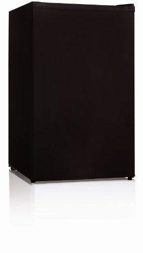 Midea WHS-109FB1 Upright Freezer, 3.0 Cubic Feet, Black