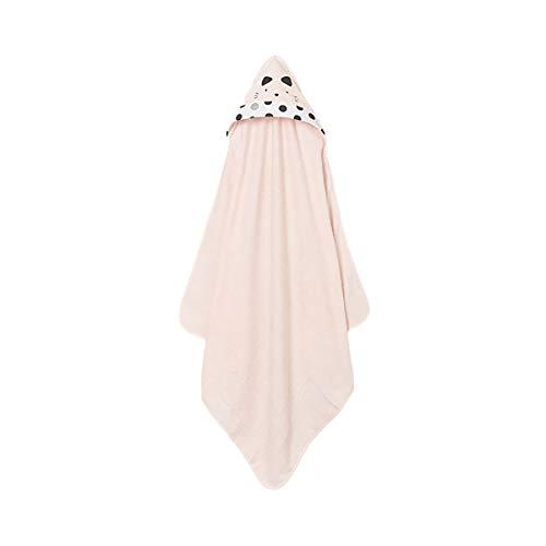 Mayoral Newborn 9918 - Toalla de baño con capucha, diseño de animales, color rosa nude Rosa Nude talla unica