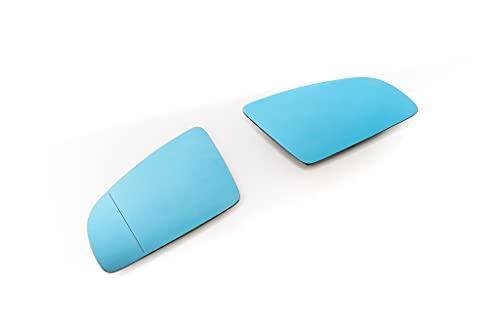 Pour Audi A3 8P A4 A6 Miroirs Glaces Bleu Dégivrant Rétroviseur Gauche + Droit