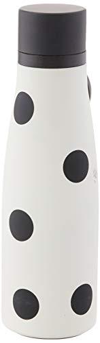 KATE SPADE Deco Dot Water Bottle, 0.7 LB, White