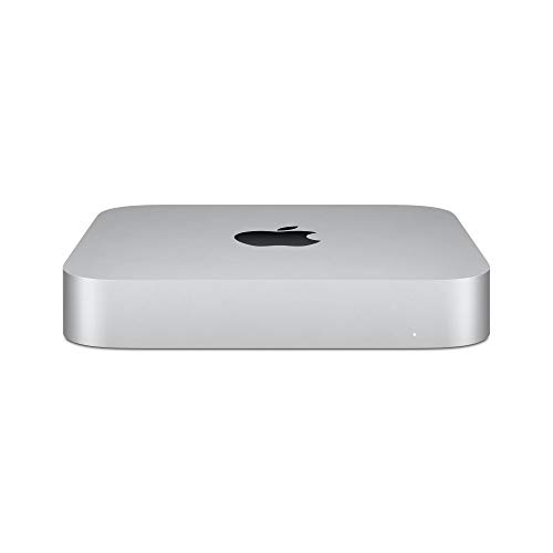 Nuevo Apple Mac mini (Chip M1 de Apple con CPU de ocho núcleos y GPU de ocho núcleos, 8 GB RAM, 512 GB SSD)