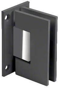 Crl Vienna 037 Series Black Wall Mount Shower Door Hinge Amazon Com