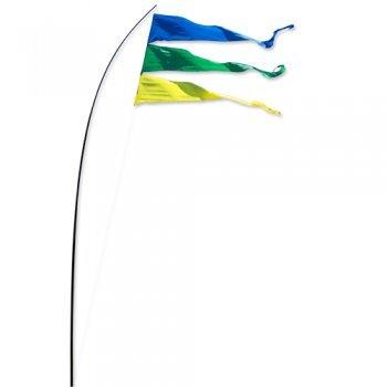 Fahnen - Bogen Banner Holiday - UV-beständig und wetterfest - Abmessung: 160x75cm - inkl. Teleskopstab und Bodenanker (Holiday)