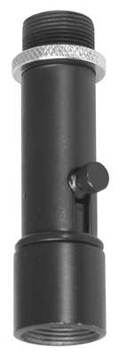On-Stage QK-2B Quik-Release Microphone Clip Adapter, Black
