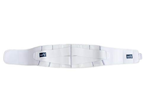 Motif Medical, Pregnancy Support Band, Relieves Pressure on the Abdomen, Lower Back, Hips, and Pelvis, White - Small