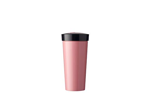 Rosti Mepal Take a Break Mug 400ml A, Pink Plastic, Nordic, 8x 8x 16.5cm 2Units