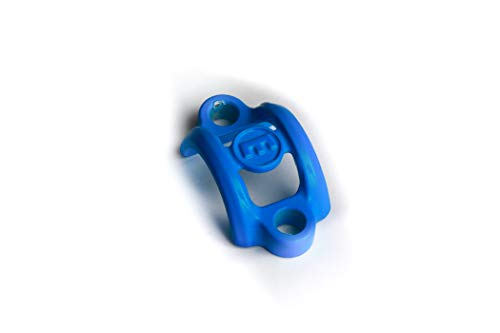 Magura Aluminium Abrazadera de sujeción, Unisex Adulto, Azul Cian, 1 Unidad