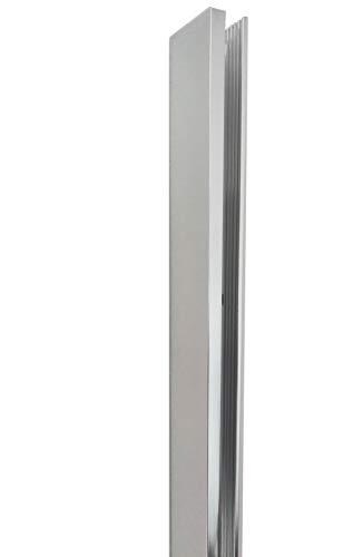 Glaszentrum Hagen - U Aluminium Profil für Duschwände - Duschkabinen - Heimwerken (TYP 1001 1.0)